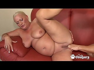 Chunky Mature Granny Has Her Asshole Ravished