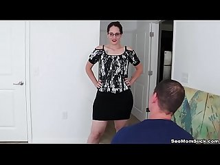 Step Mom POV blowjob