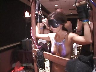 Two whippings two forced public milf orgasms one squirt at texas swing orgy