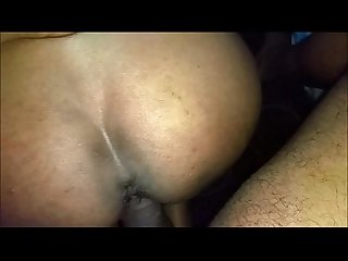 Desi wife fucked hard from behind and creampied