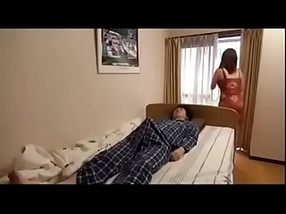 Step mom and son in home boy Sleep with mom