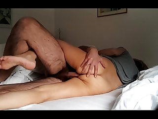 Wife fucking stranger and let s him cum inside her