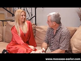 Big tit blonde lexi kartel massage and blowjob