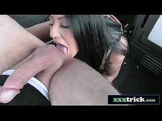 British MILF Candi Kayne Fucked Hard By John The Cab Driver