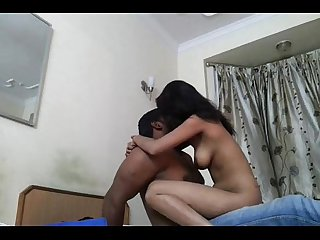 Punjabi college girl wid bf sucking dick