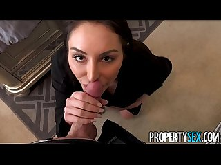 PropertySex - Indecisive homebuyer plows very good-looking agent