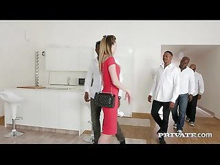Private.com - Paulina Soul Shines In 4 Big Black Cock Orgy!