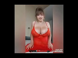 super big boobs natural girl on fire