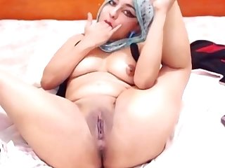 Dalilah - Sexiest Arabian Webcam Solo!!!!!
