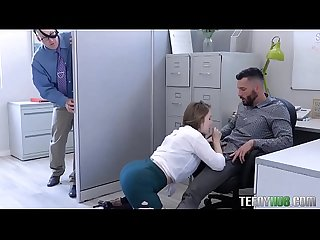 Lena paul in the porn office