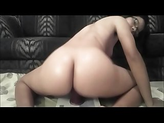Sexy ebony webcam