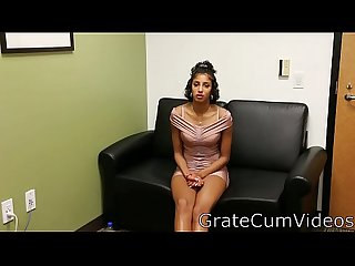 Sasha real college student 1st video ever gratecumvideos