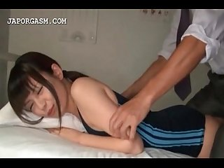 Teen asian swim girl gets body examined by teacher