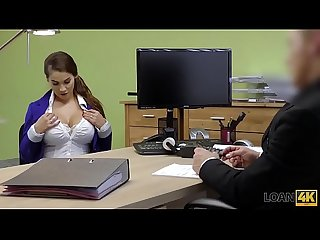 Loan4k lack of money are The best motivation for busty Teen lady