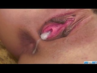 Miriya Hazuki loves to suck cock and feel it cumming inside
