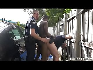 Gay black cock fetish serial tagger gets caught in the act