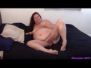 Naughty BBW Housewife Naked
