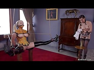 Master anal fucks newcomer and maid