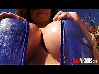 Bamvisions Anal Slut Roxy Raye DP with Dildo