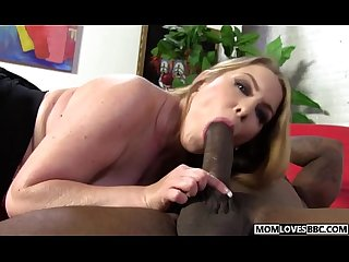 Son watching mom Desiree De Luca getting fucked by a BBC
