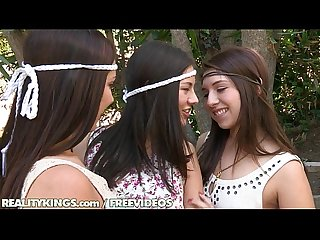 Reality kings hippy lesbian threesome with jenna
