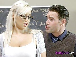 Hot class president kylie page blows her teacher