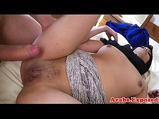 Arabian amateur beauty pounded for cash