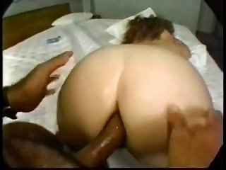 This horny and nasty bbw milf gets hard Dp rough