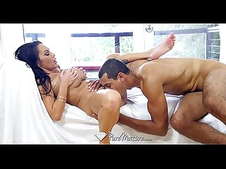 Puremature big tit milf dayton rains takes black cock