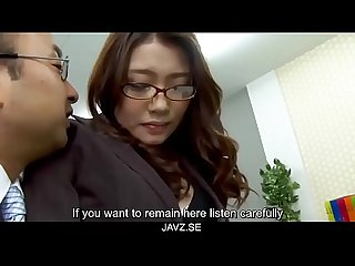 Subtitles boss fucked her japanese secretary ibuki from javz se