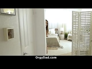 Step Daughter and Her Friend Fucked Their Dad | OrgyDad.com