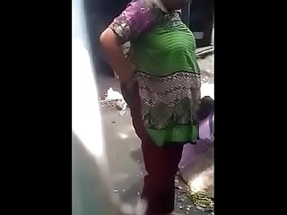 Desi Aunty topless bath capture 4 clip merged
