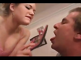 Mistress Spitting on slave