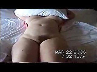 Woman with big tits hairy pussy fucked