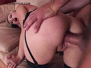 Anal fuck and creampie