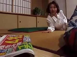 Asian Japanese Milf Wife Juiced By All Men Home