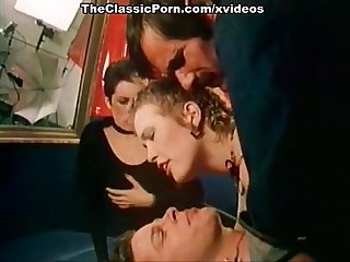 Shooting cinema turned to classic orgy
