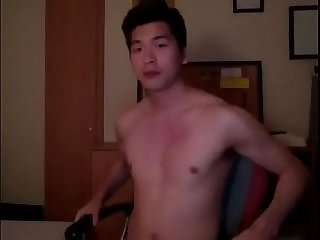 Cute Asian jerk cam
