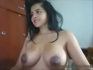 Indian cam Girl with huge tits hornyslutcams period com