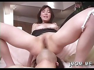 Stunning aged babe rides and sucks a large hrd dick wildly