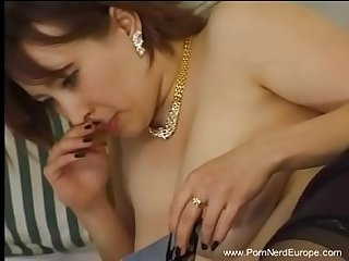 Horny romanian mom fucks young son
