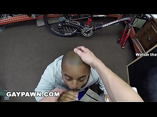 GAY PAWN - A Furloughed Government Worker Visits My Pawn Shop For Cash