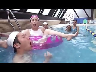 Japanese Mom And Son Swimming School - LinkFull:..