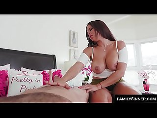 Slutty sister trying to Fuck stepbrother