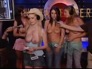 Topless Fantastic 4 Contest - Howard Stern Show
