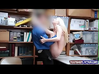 Cute Litte Butt Teen Shoplifter Punished