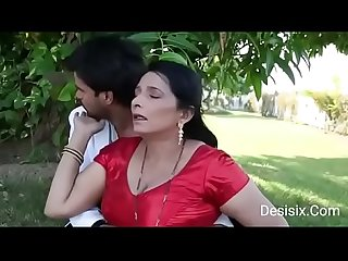 hot Desi couple sex in park