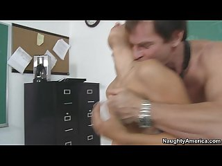 Baby sitter gigi fucks to keep her job