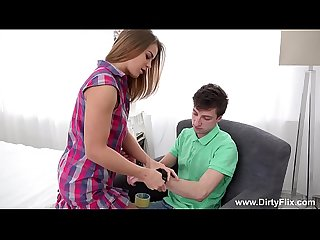 Make Him Cuckold - Jenny Manson making him watch it all