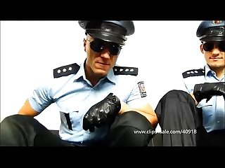 Two domination cops traples soccer baloon 054